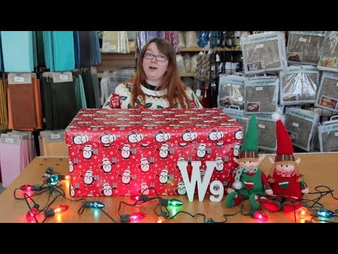 Sneak Peak Unboxing - The Ninth Fiber Gift of Christmas from The Woolery
