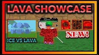 NEW LAVA RELEASE KG SHOWCASE|ICE VS LAVA KEKKEI GENKAI|ROBLOX Naruto RPG- Beyond |