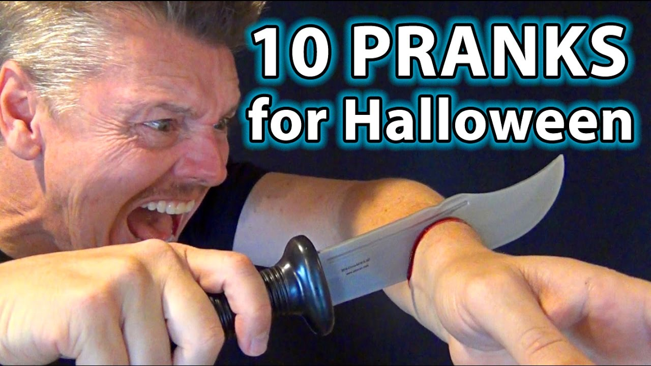 cool halo ween tricks - Magazine cover
