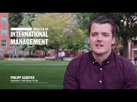 Master of International Management - The University of Adelaide
