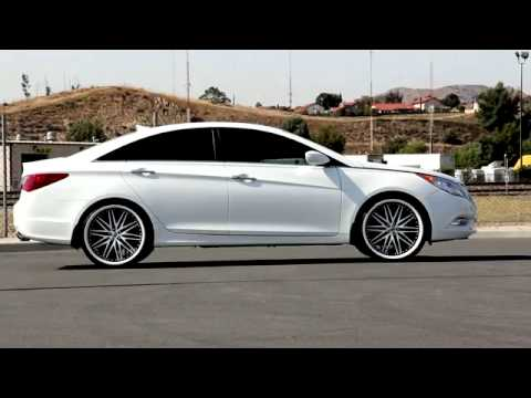 Hyundai Sonata Rodas Lexani 22 Youtube
