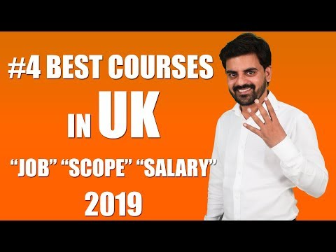 #4 BEST COURSE IN UK | Job Scope And Salary After Study In UK 2019 | Student | Visa