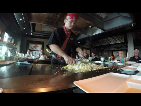 Norwegian Cruise Line Teppanyaki- Norwegian Escape Full Unedited