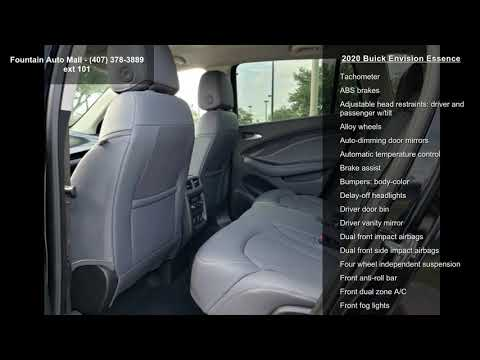 2020 Buick Envision Essence Youtube