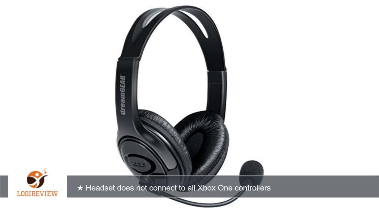 dreamgear x talk one wired headset with microphone for. Black Bedroom Furniture Sets. Home Design Ideas