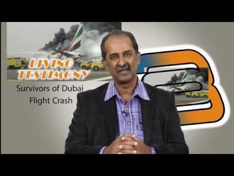 Emirates Dubai flight crash testimony- Harvest tv