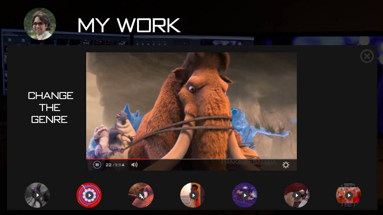 Video Editor Cv Resume Youtube