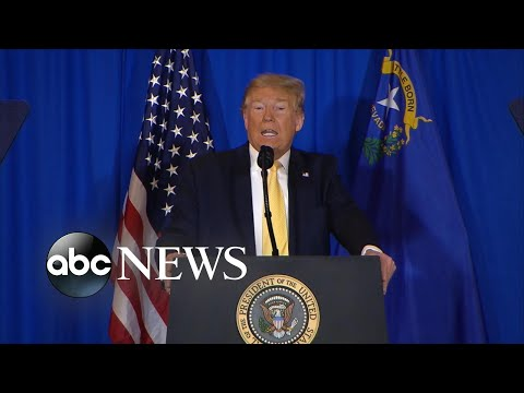 Trump says he will let 'the process play out' in Roger Stone case l ABC News