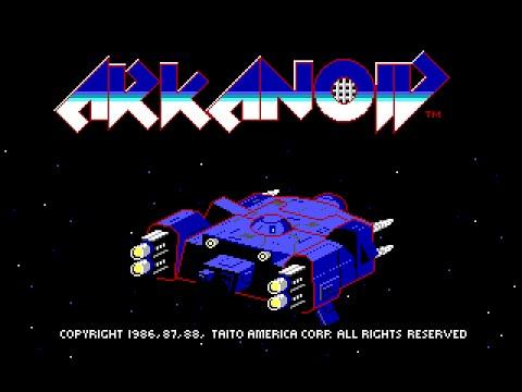 Arkanoid (PC/DOS) 1988, Taito, Imagine Software, NovaLogic
