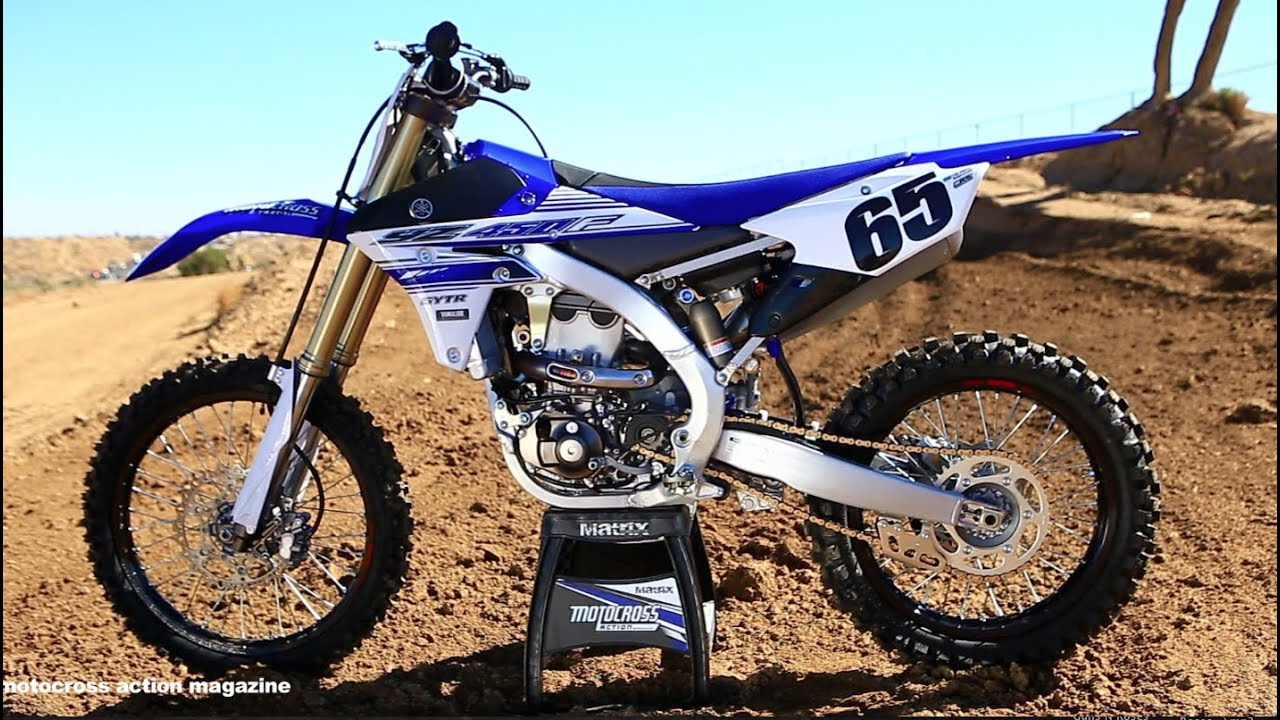 First ride 2016 yamaha yz450f youtube for New yamaha 450