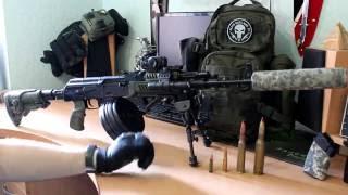 Тюнинг автомата Калашникова ак 47, акм, ак 74