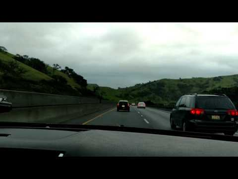 Driving on Pacheco Pass