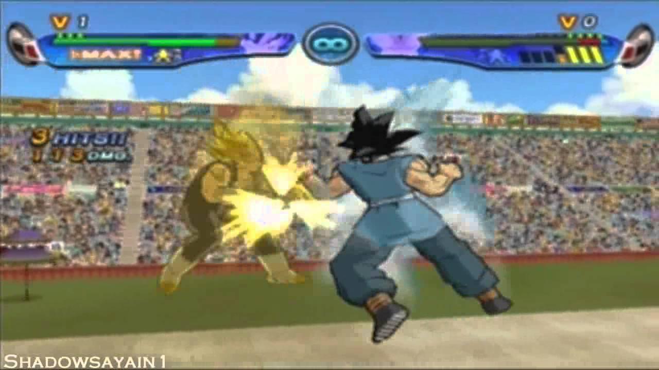 DBZ Budokai 3 Goku (EOZ) vs Vegeta - YouTube