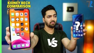 iPhone 11 Pro Max vs A Premium Android Smartphone