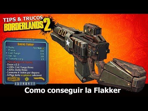 Borderlands 2 | Remastered | Tips & Trucos | Como conseguir la Flakker (Glitch de daño)
