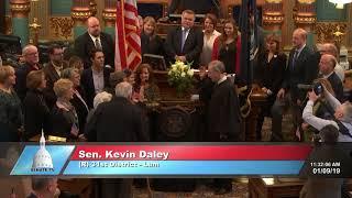 Sen. Daley sworn in as Michigan senator