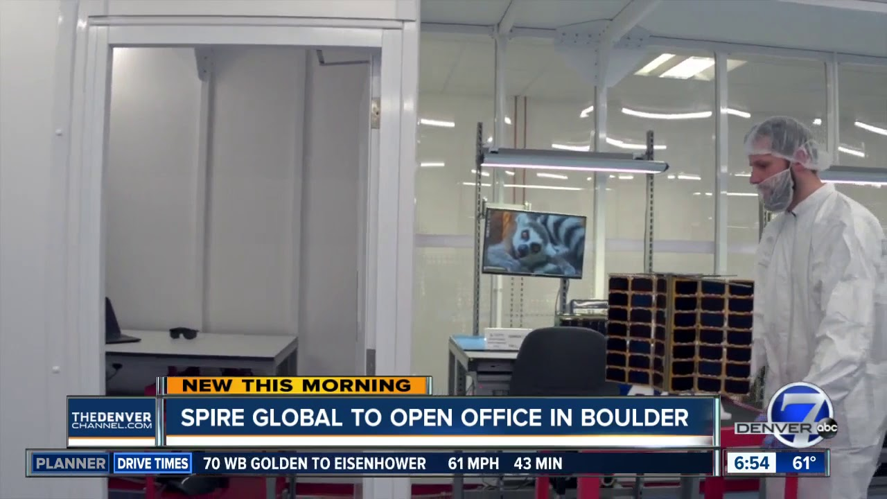 Spire Global To Open Office In Boulder Youtube