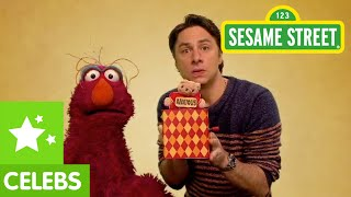 Sesame Street: Zach Braff and Telly are Anxious