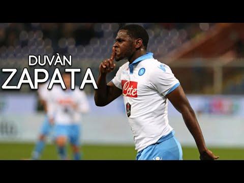 Duvan zapata goals skills perla nera ssc napoli 2014 for Duvan zapata