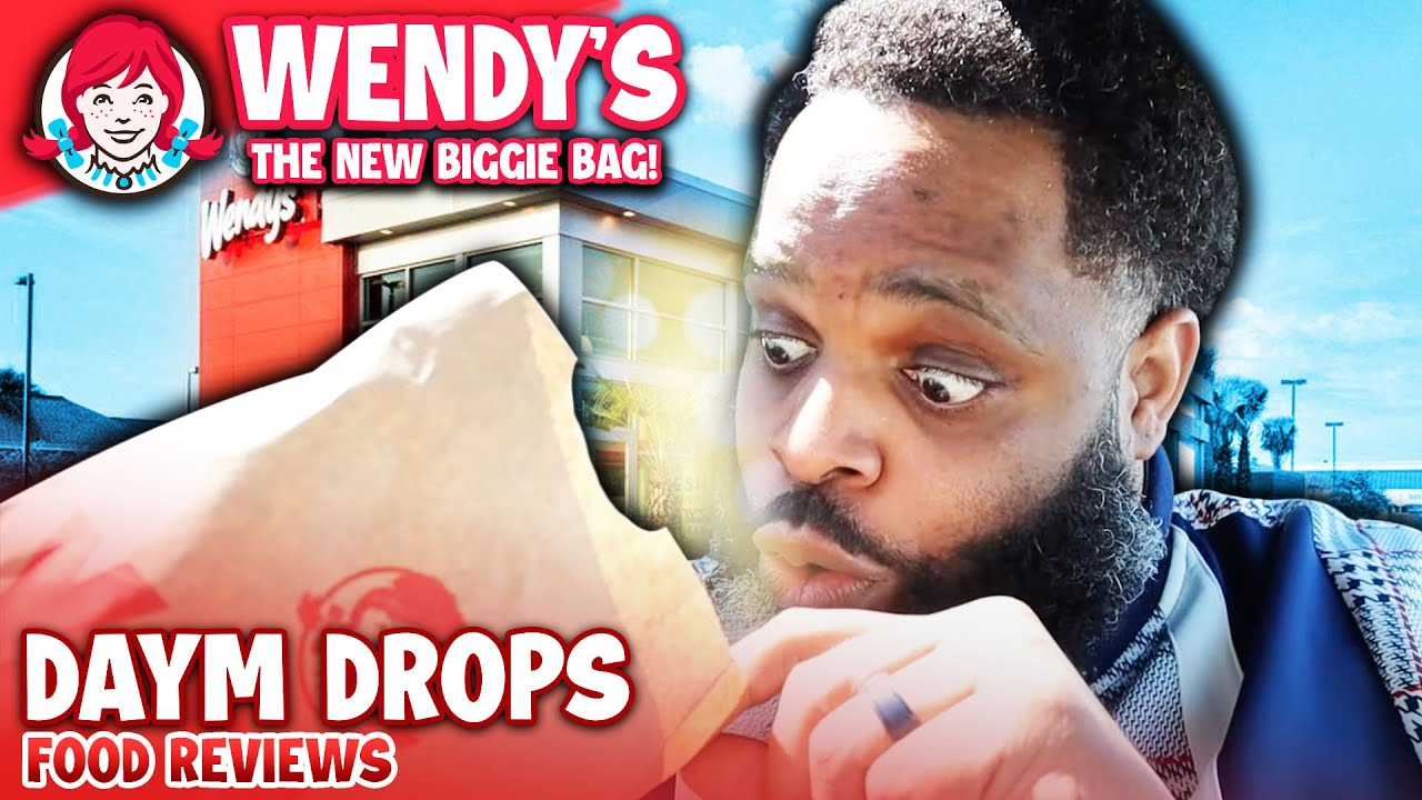 Wendy's NEW $5 Biggie Bag COMES WITH WHAT INSIDE???