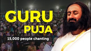 Guru Puja Chanting by 15,000 People in World Culture Festival 2016