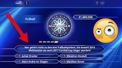 Wer wird Millionär - NUR FUSSBALL-Fragen !