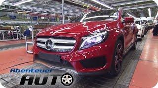 Mercedes GLA Produktion - So sieht