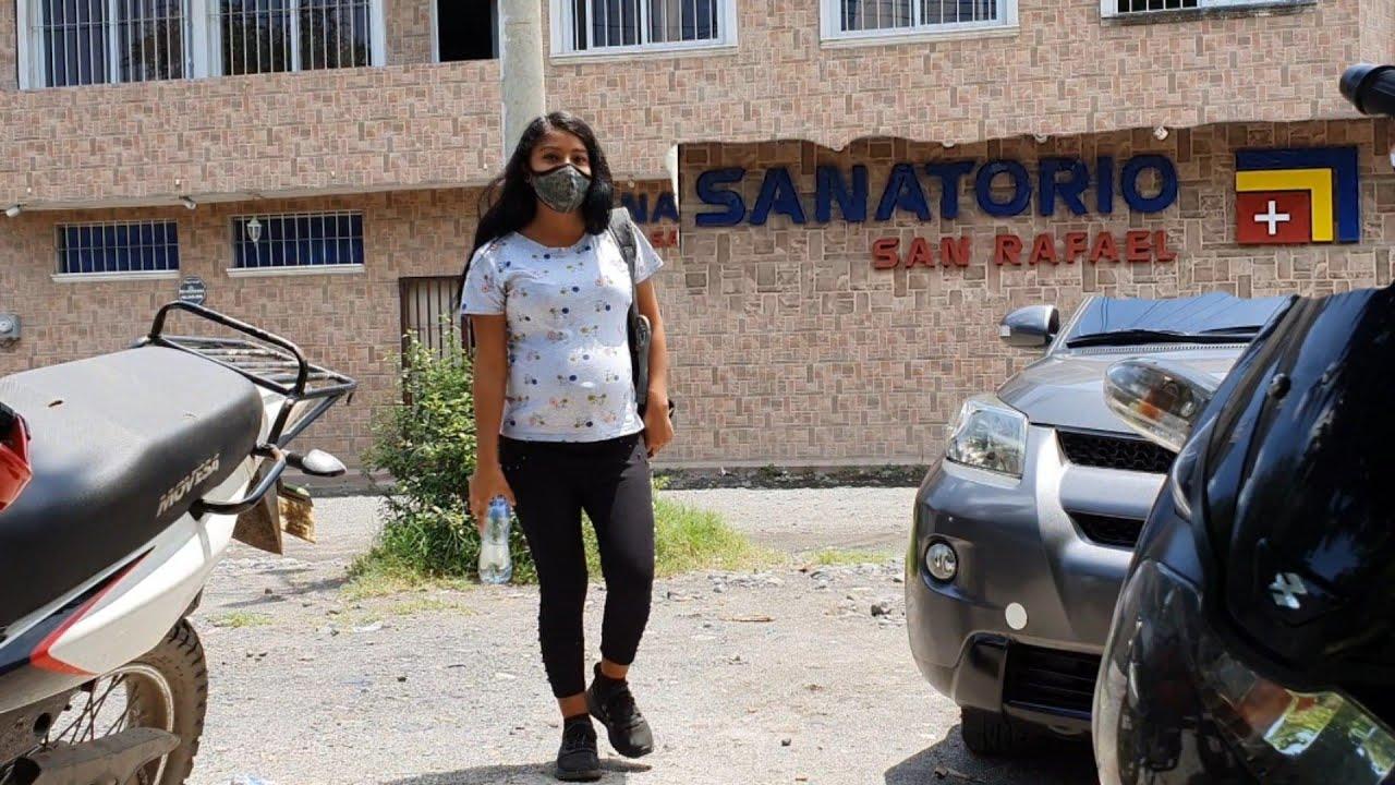 """Nohemi""""Se pone Mal de Salud la llevo a Control de su Embarazo/al Sanatorio"""