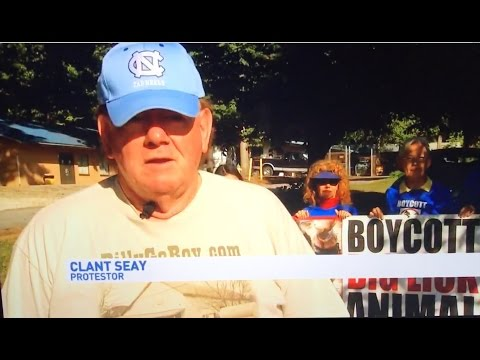 "WLOS Ch. 13  TV (ABC) Covers  CCABLAC Protest Against ""Big Lick"" Animal Cruelty"