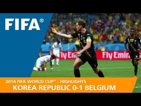KOREA REPUBLIC v BELGIUM (0:1) - 2014 FIFA World Cup™
