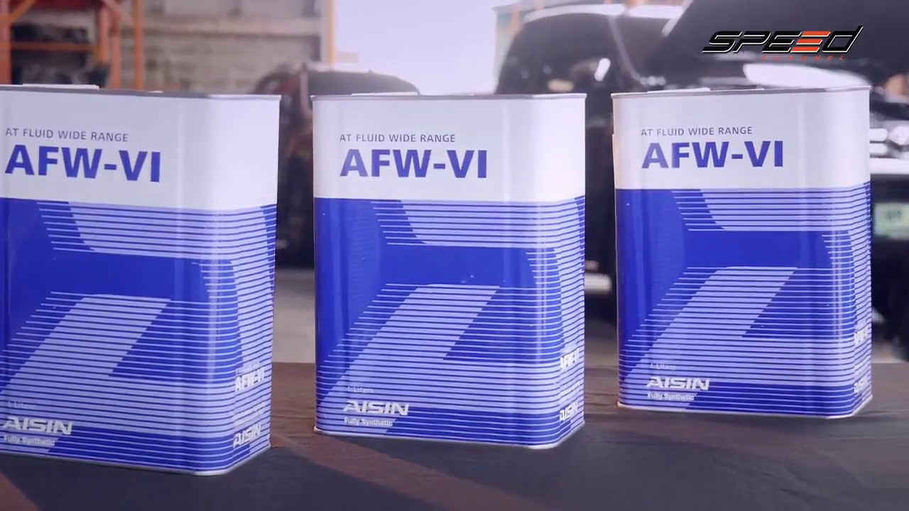 Changing Automatic Transmission Fluid AISIN AM6 by Irmantas