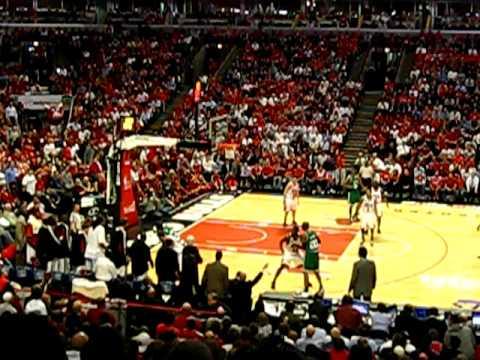 Brad Miller Bulls v Celtics Game 6