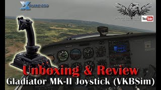 [Unboxing & Review] Gladiator MK-II Joystick (VKBSim)
