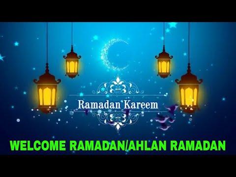 RAMADAN SONG 2018 | AHLAN RAMADAN - MISHARY RASHID | WELCOME HOLY MONTH RAMADAN