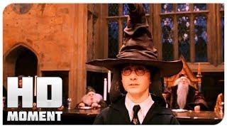 Распределяющая шляпа - Гарри Поттер и философский камень (2002) - Момент из фильма