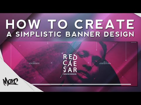 Photoshop Tutorial: Creating a Simplistic Banner Design