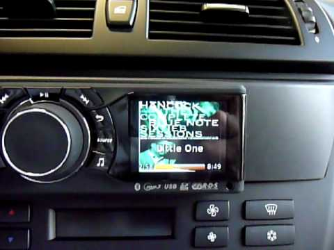 bmw x3 with car radio parrot rki8400 youtube. Black Bedroom Furniture Sets. Home Design Ideas