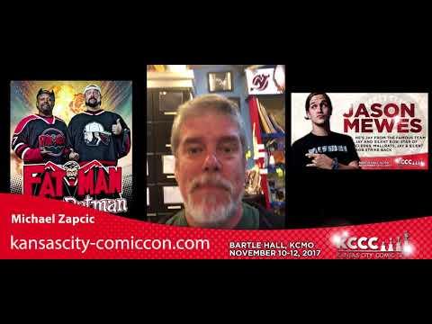 Michael Zapcic Announces Jason Mewes, The Comic Book Men, and Kevin Smith at Kansas City Comic Con