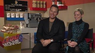 Chris Pratt & Elizabeth Banks on The LEGO Movie 2