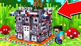 НУБ ПОСТРОИЛ САМЫЙ ЗАЩИЩЕННЫЙ ДОМ В Майнкрафте! Minecraft Мультики Майнкрафт троллинг Нуб и Про
