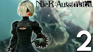 The Desert of Sadness and Naked Men   NieR: Automata Let