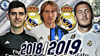 LE FUTUR REAL MADRID 2018/2019 ?! 🤔