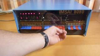 IMSAI 8080 from 1975 - one of the first personal computers