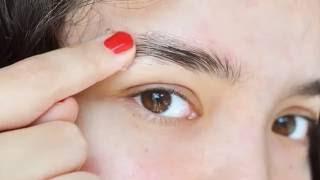 видео Как выщипать брови ниткой? Видео о коррекции волосков на лице