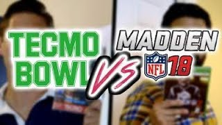 Tecmo Bowl vs. Madden