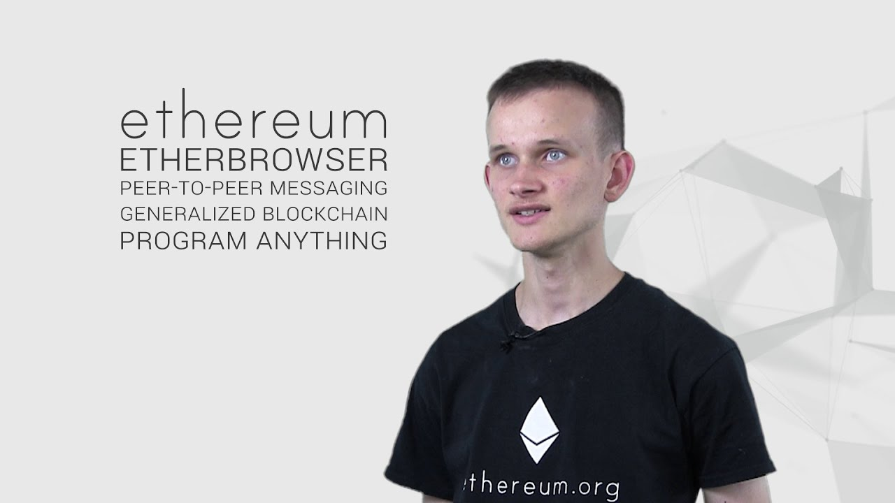 Vitalik Buterin explains Ethereum - YouTube