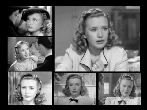 Priscilla Lane  Bloopers  1939  Four Daughters  Brother Rat