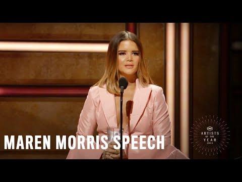 Maren Morris   2018 CMT Artists of the Year Acceptance Speech Mp3