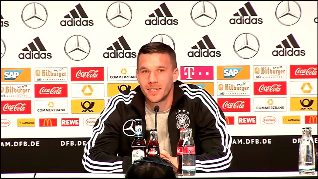 Pressekonferenz Dfb Podolski