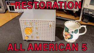 Receiver Restoration, Emerson Radio AA5!